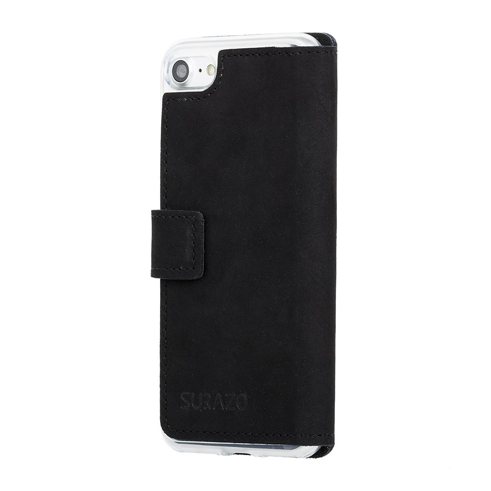 Surazo® Slim cover phone case - Black