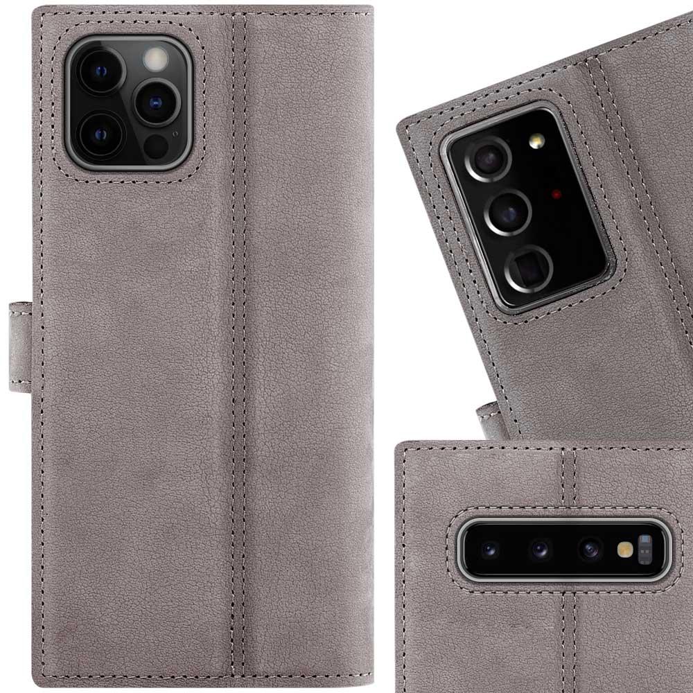 Wallet case - Nubuck Gray