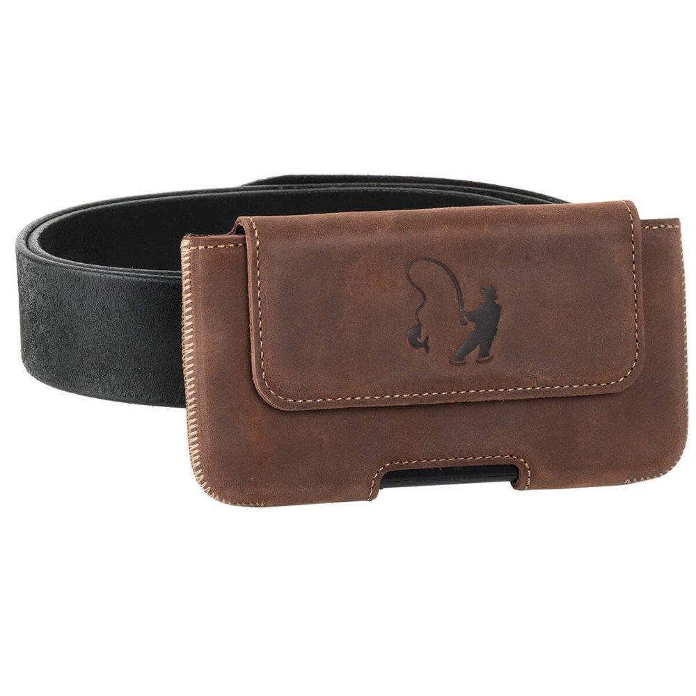 Belt case - Nussbraun - Angler