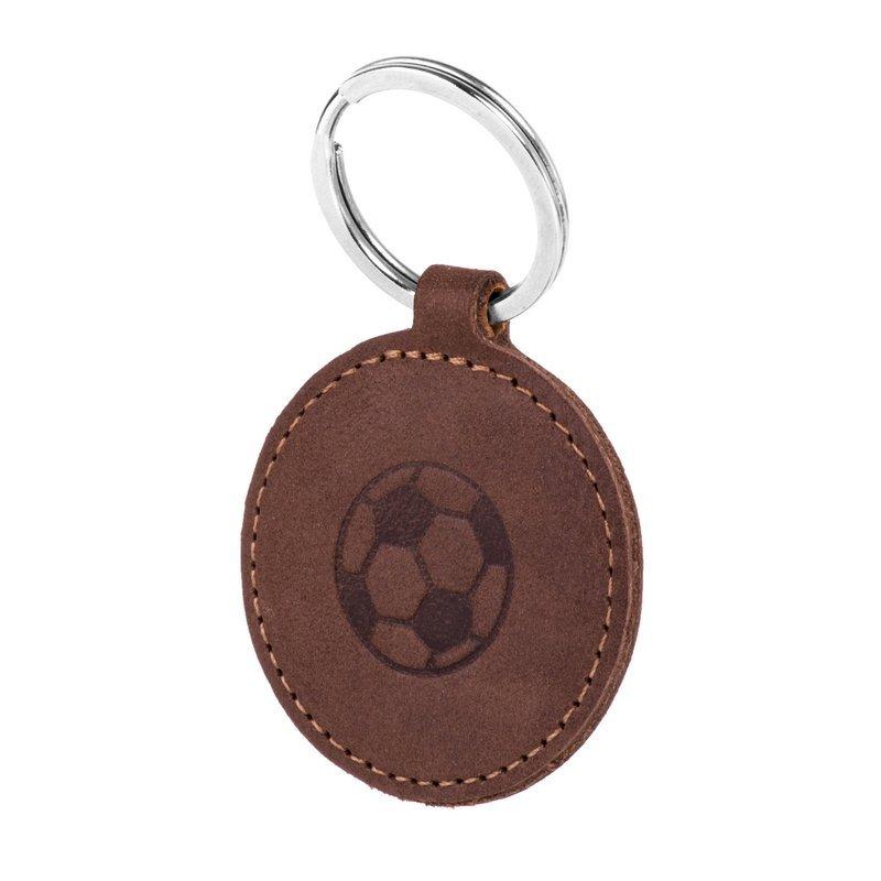 Smart magnet RFID - Nubuk Nussbraun - Fußball